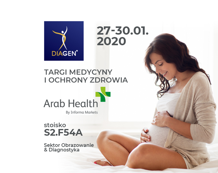 DIAGEN na targach Arab Health 2020